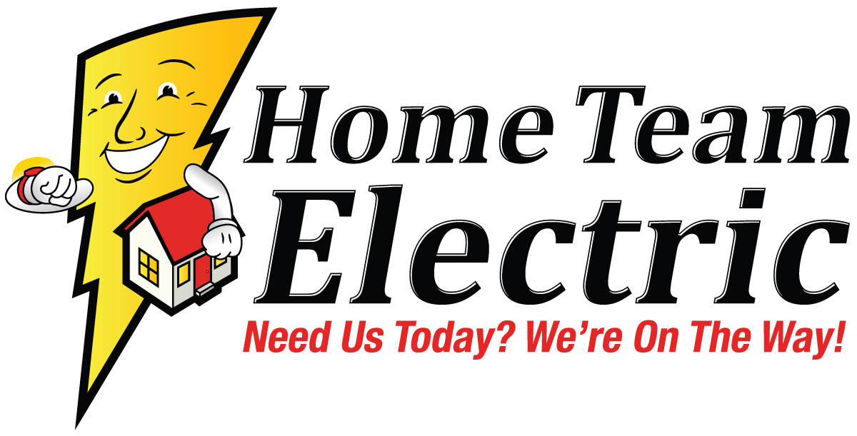 Electrician Contractor  Home Team Electric Logo